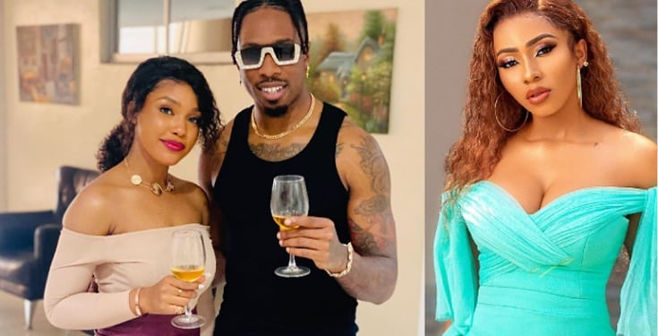 Ike Onyema blasts fan who said actress Ruby is prettier than his bae, Mercy