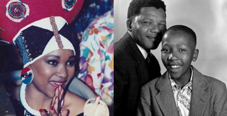 Nelson Mandela's daughter Zindzi died on same date her brother died years ago