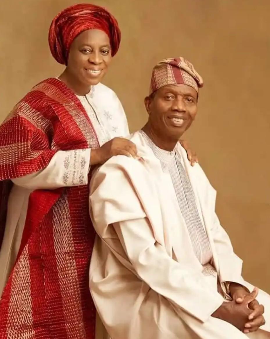 Nigerians drag Pastor Adeboye over his birthday message to wife, Foluke