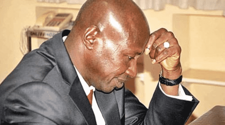 Ibrahim Magu suspended