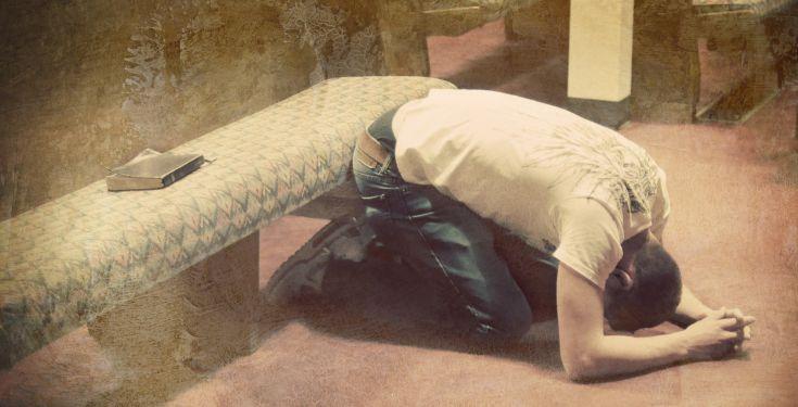 Man fasting
