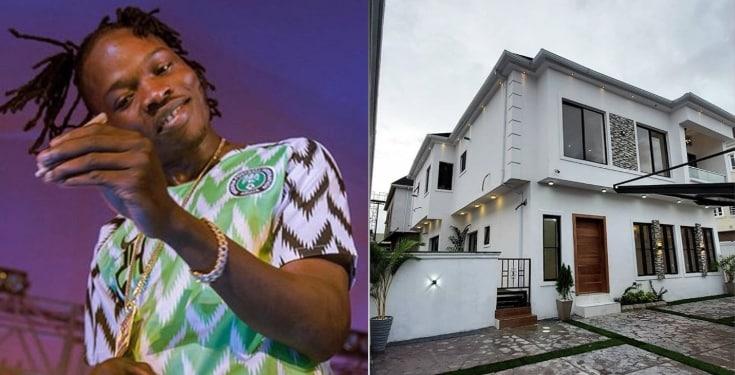 Naira Marley buys house
