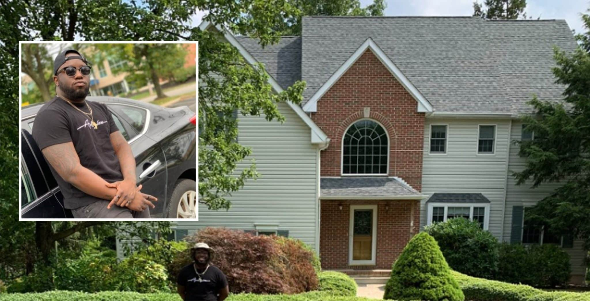 Man builds mansion after being homeless