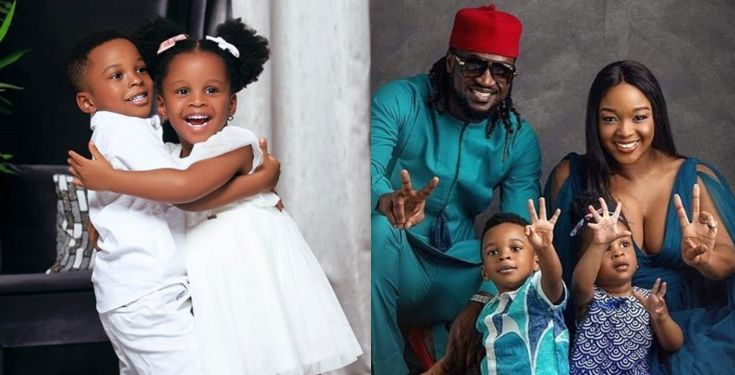 Paul Okoye twin babies