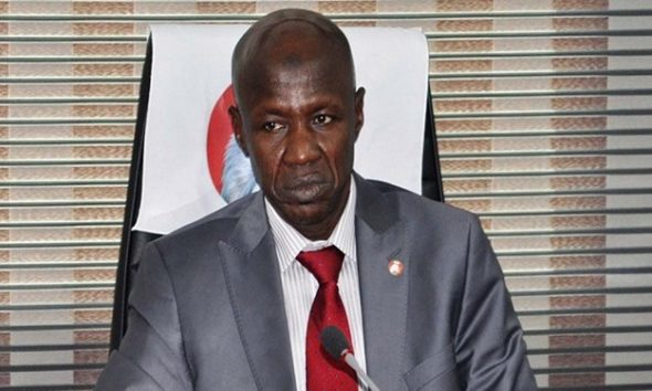 Suspended EFCC boss Ibrahim Magu writes IGP, seeks release on bail