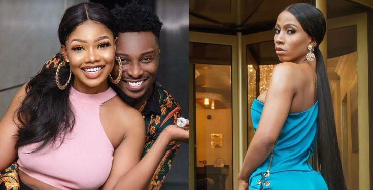 Tacha unfollows Sir Dee after he congratulated Mercy Eke