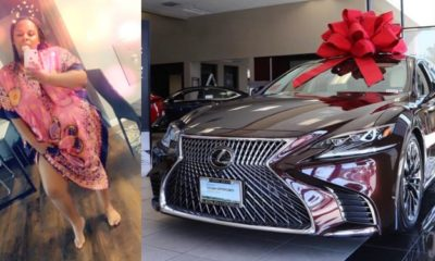 Twitter users drag lady who claimed that her husband surprised her with a 2020 Lexus Ls.