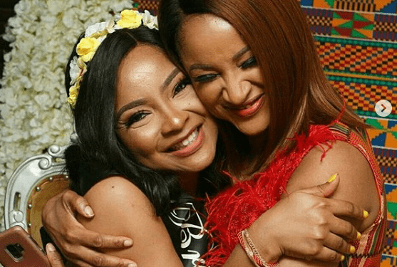 Adesua Etomi celebrates Linda Ejiofor