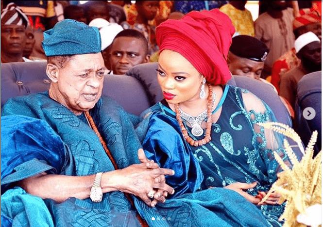 Queen Anu Alaafin of Oyo