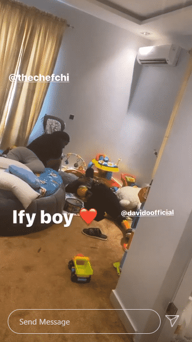Celebrity Gist: Davido and Chioma chilling with their son Ifeanyi, Celebrity Gist: Davido and Chioma chilling with their son Ifeanyi (Photo), Latest Nigeria News, Daily Devotionals & Celebrity Gossips - Chidispalace