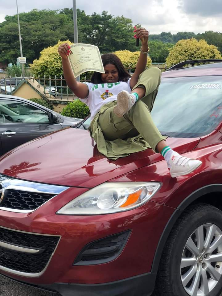 Lady Gifts Herself A New Car