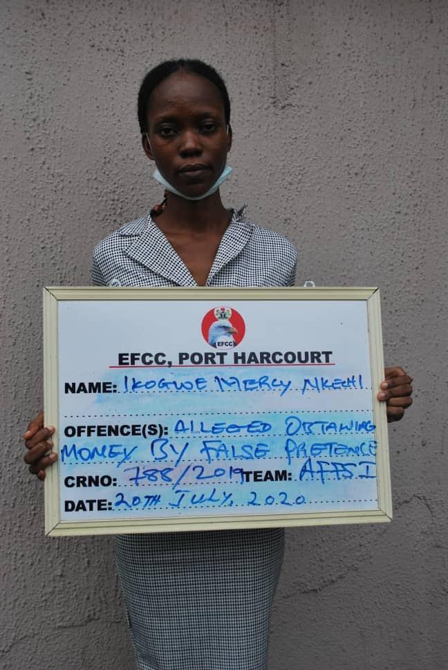 Nigerian lady fraud