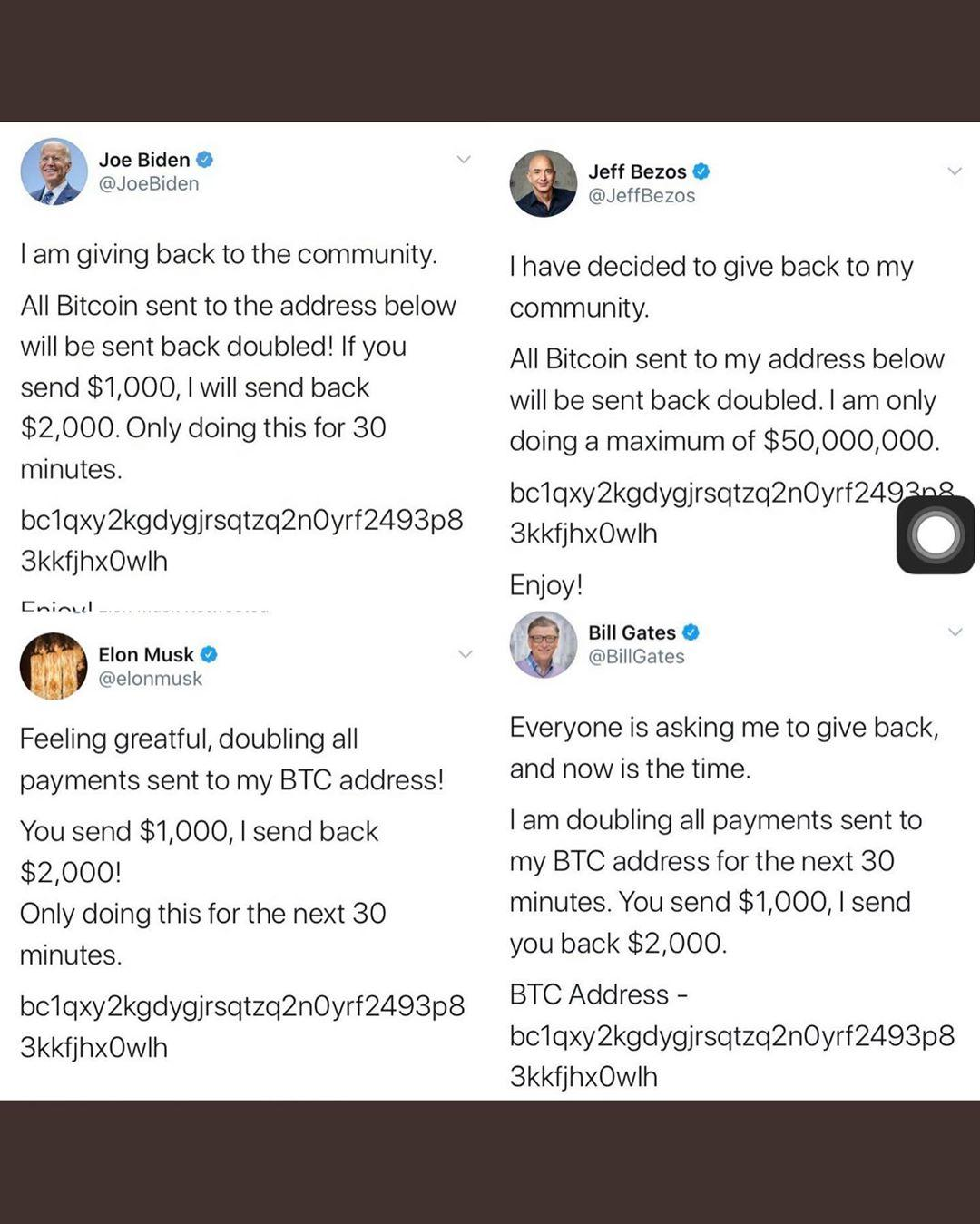 Hackers make millions of naira after hacking twitter accounts of Bill Gates, Barrack Obama, Jeff Bezoz, Kanye West, others, Hackers make millions of naira after hacking twitter accounts of Bill Gates, Barrack Obama, Jeff Bezoz, Kanye West, others, Latest Nigeria News, Daily Devotionals & Celebrity Gossips - Chidispalace
