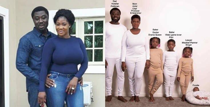 Mercy Johnson Family Career Paths