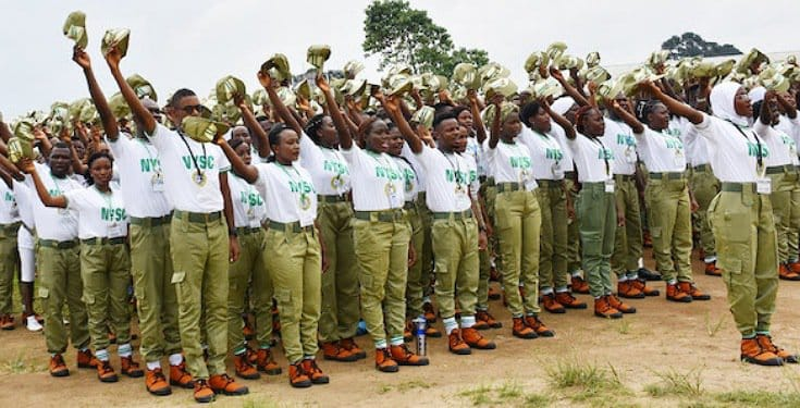 NYSC passing-out parade