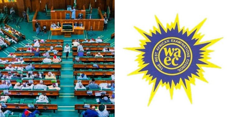 House of Representatives WASSCE exams