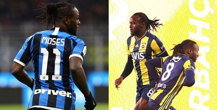 Victor Moses shows off new haircut
