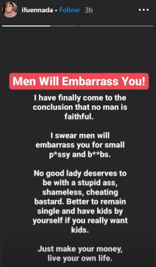 Ifu Ennada advises women