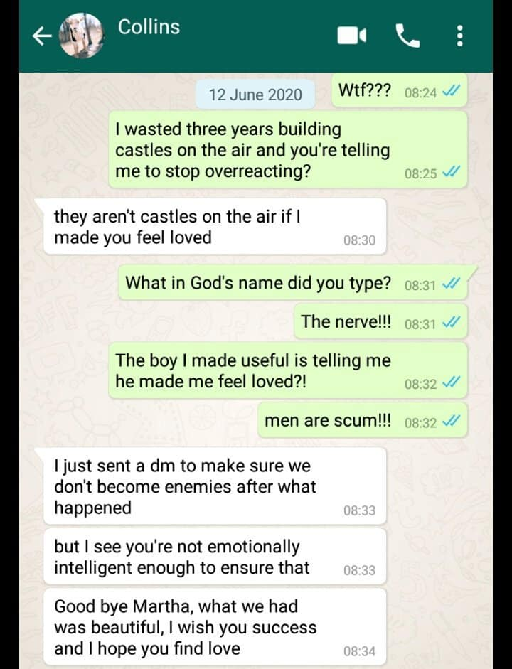 Man dumps lady 'cos she's older