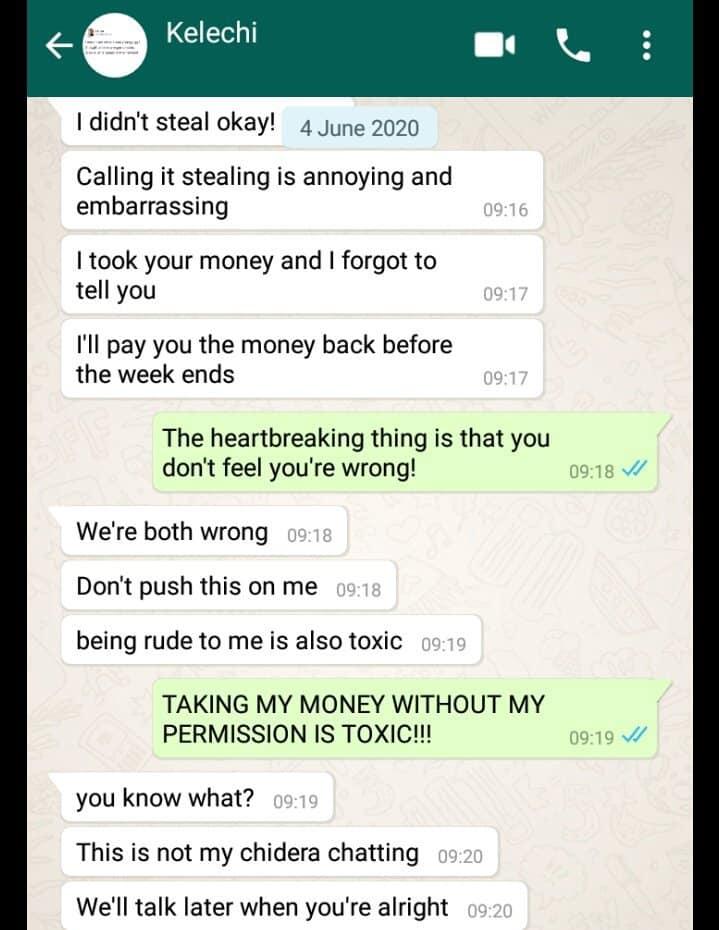 My boyfriend withdraws my money without permission
