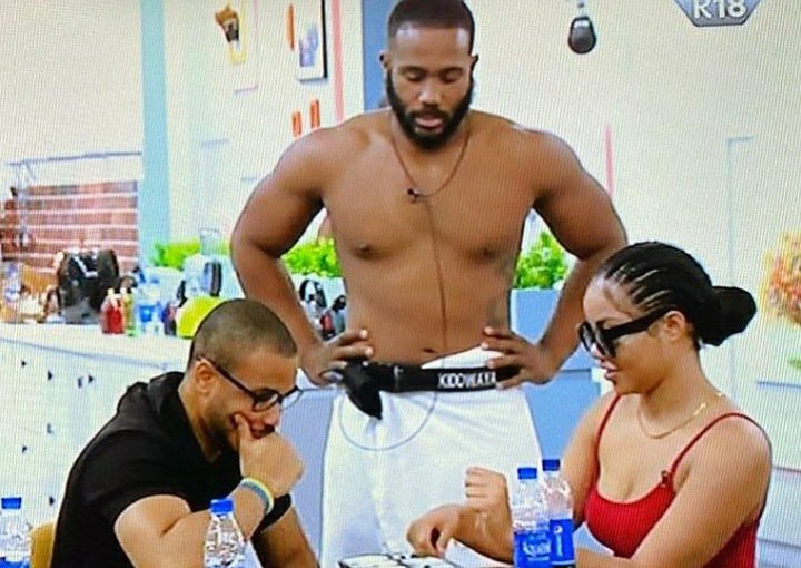 BBNaija 2020: Ozo complains to Dorathy about Kiddwaya always intruding whenever he's with Nengi