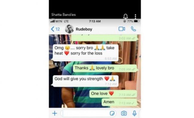 Paul Okoye sympathizes with Shatta