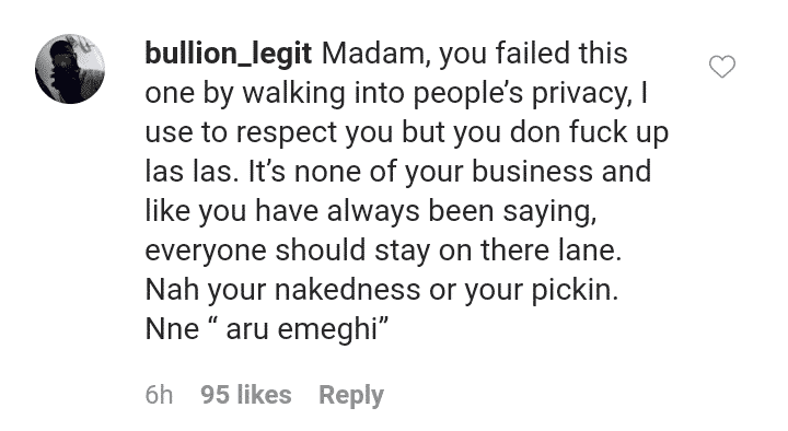 Nigerians drag Anita Joseph