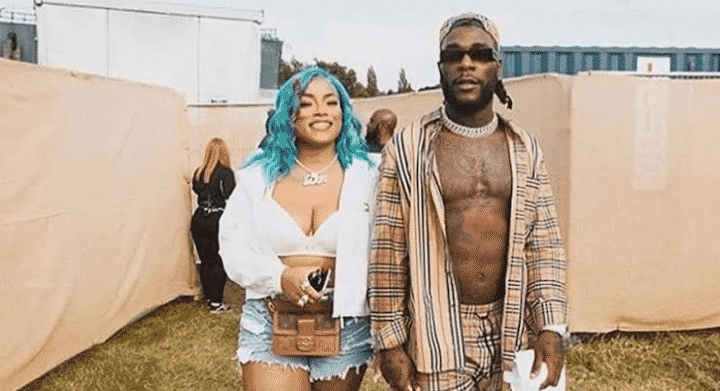 Stefflon Don celebrates Burna Boy