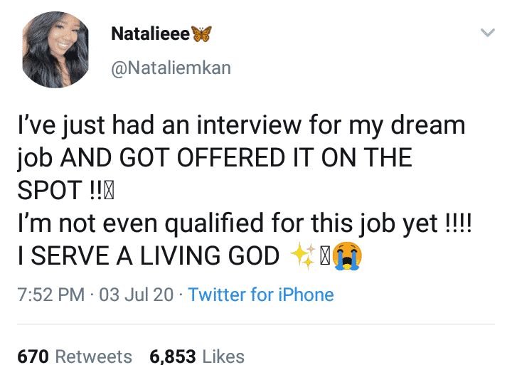 Lady offered job without being qualified