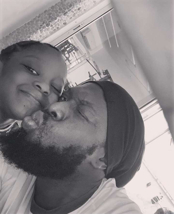 Timaya Celebrates Daughter