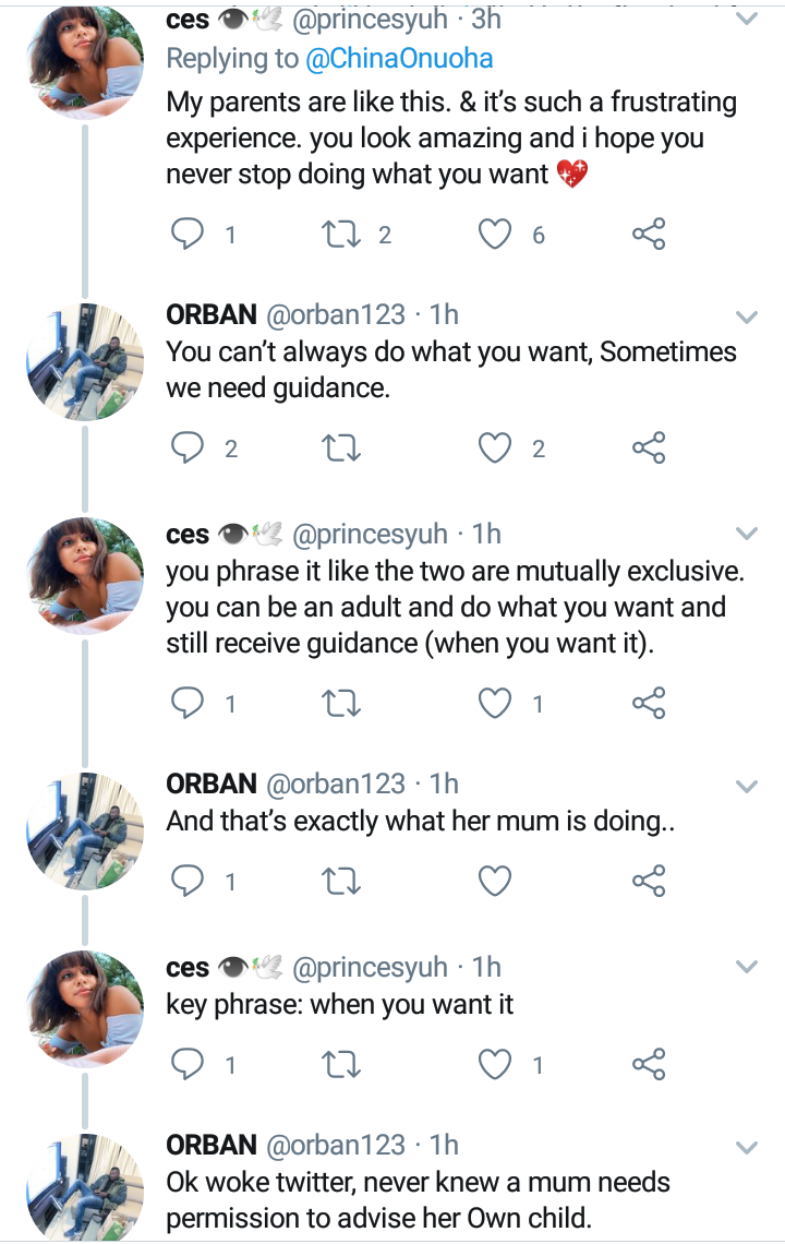 Lady reveals how her mother reacted