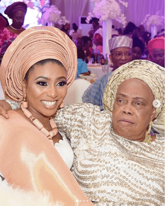 Stephanie Coker loses mother in-law
