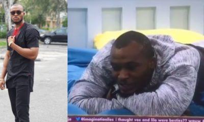 """I am coming to play a new game"" – Eric tells housemates (video)"