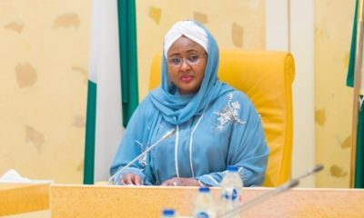 Aisha Buhari flown to Dubai for neck pain treatment