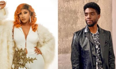 Angela Okorie attacks Nigerians mourning Chadwick Boseman