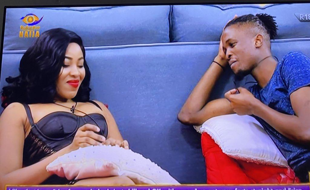 """BBNaija 2020: Laycon opens up to Erica - """"I have feelings for you"""""""