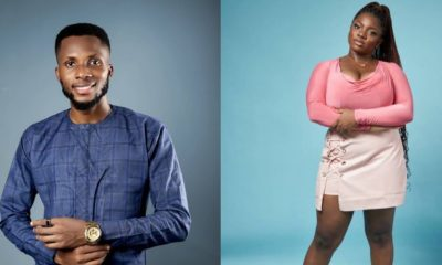 #BBNaija: I want to kiss you, I mean it – Dorathy tells Brighto (Video)