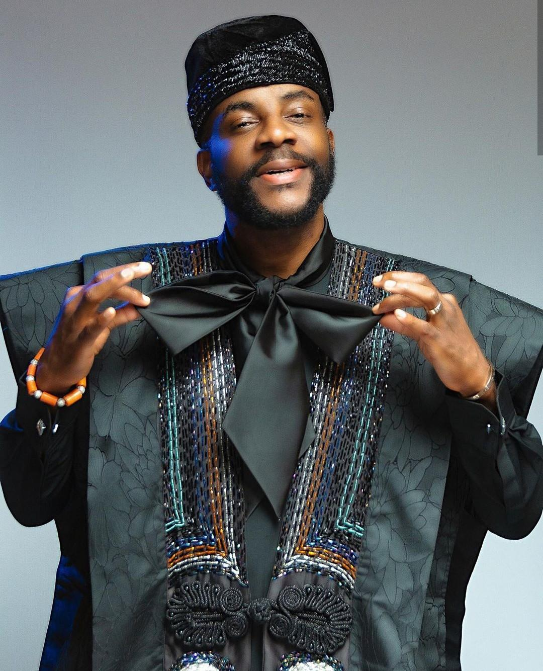 Nigerians Gush Over Ebuka's Outfit To BBNaija's Live Eviction Show (Photos)