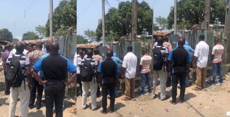 Ikota residents pray over faulty transformer (video)