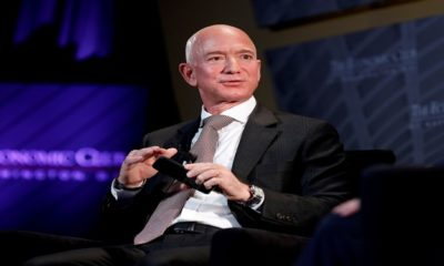 Jeff Bezos becomes the world's first person to hit a net worth of $200 billion
