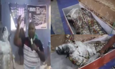 Pastor Orumgbe allegedly raises a dead woman during a service (video)