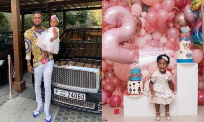 Patoranking releases beautiful photos of daughter Wilmer to celebrate her on her 2nd birthday