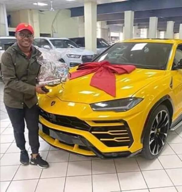 Wife buys husband Lamborghini