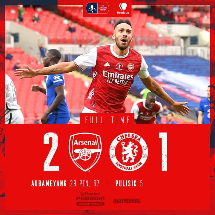 Arsenal Win FA Cup