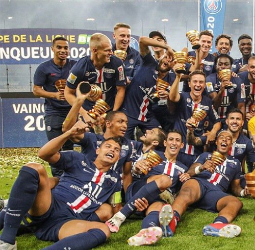 PSG Win French League