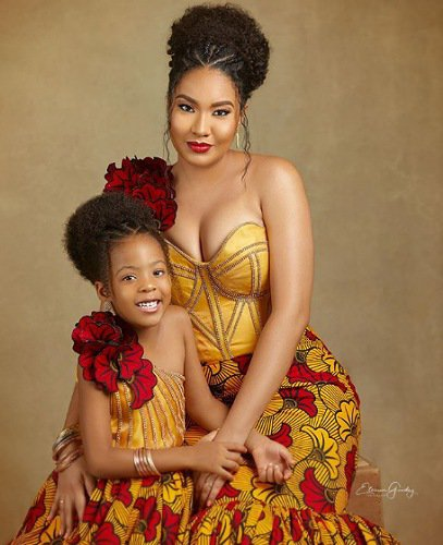 Flavour celebrate daughter birthday