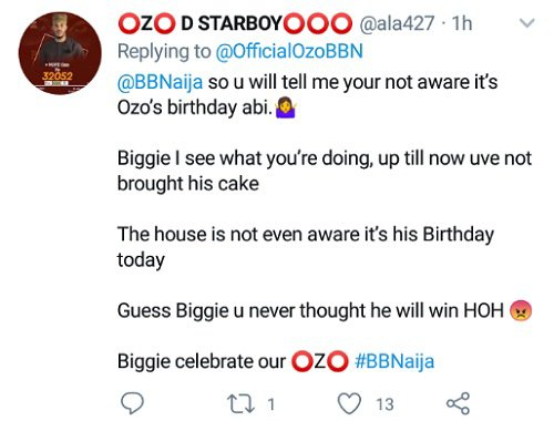 Fans Celebrate Ozo On His Birthday