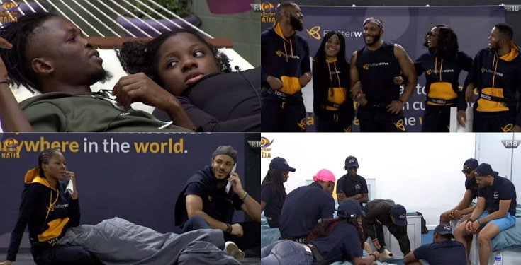 BBNaija 2020 Day 17: Erica rejects Laycon, the bed squabble, Ozo snaps at Prince and lots more…