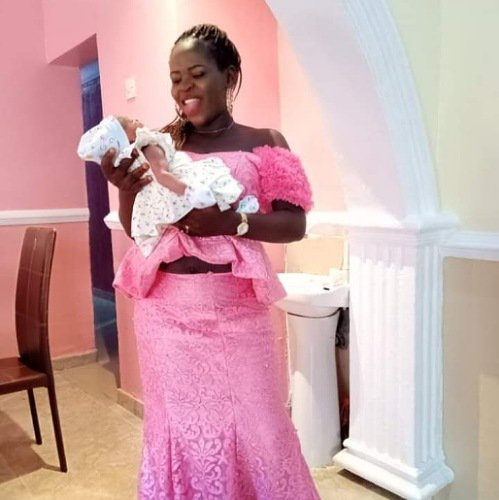 Woman Welcomes Baby Girl