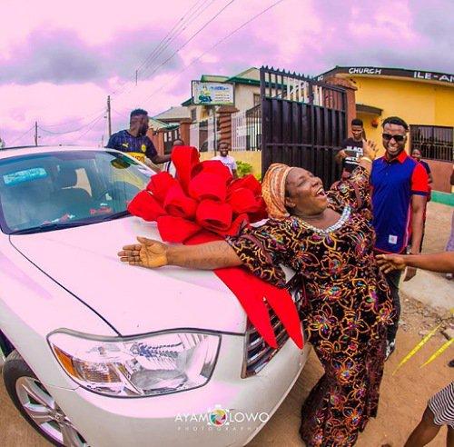 DJ Kaywise Buys His Mum A New Car